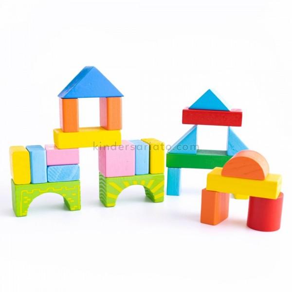 Bloques de construcción x 100 piezas
