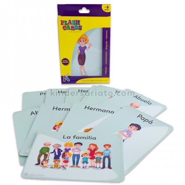 Flash Cards Reconocimiento familiar