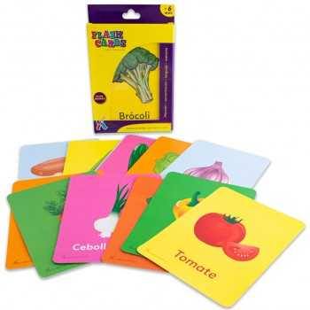 Flash Cards Los vegetales