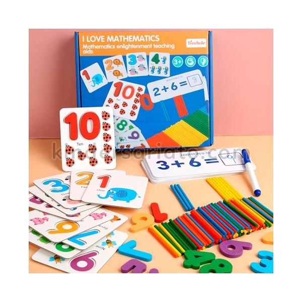Amo las matemáticas (I love mathematics)
