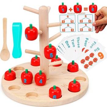 Árbol de manzanas para contar (apple three)
