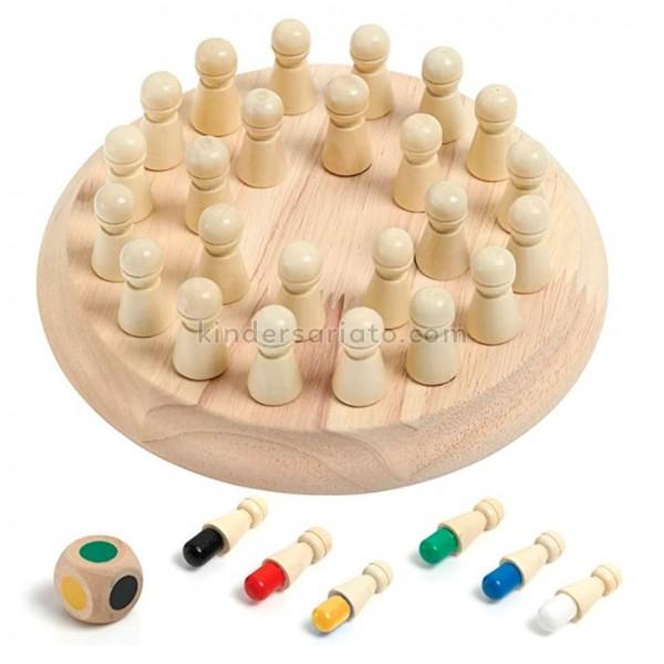 Memory chess (juego de memoria + dado)