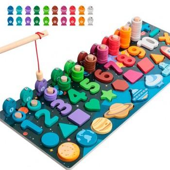 Tablero Montessori escalera...