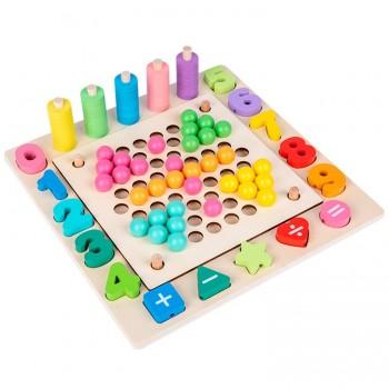 Tablero Montessori...