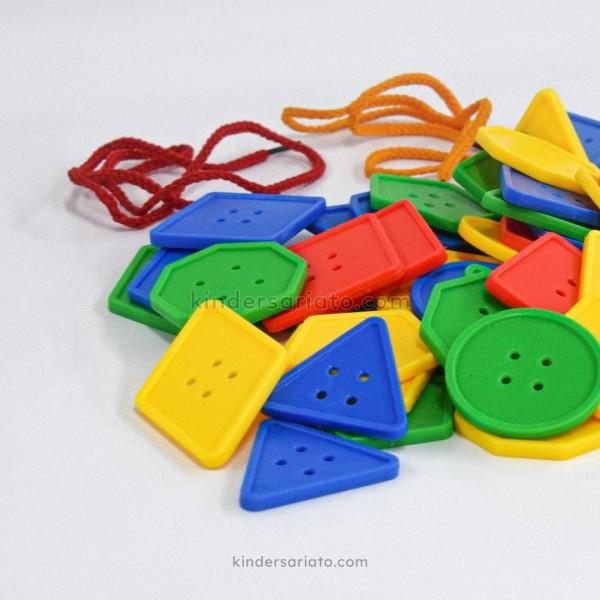 Lego Botones Funny Blocks (75 piezas)