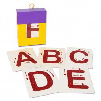 Tarjetas ABC en relieve con...
