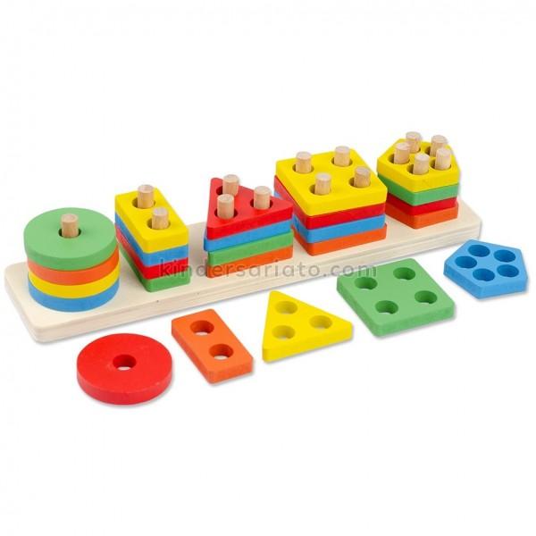 Cuenta tablillas horizontal (25 piezas)