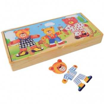 Caja de ositos x 3 personajes