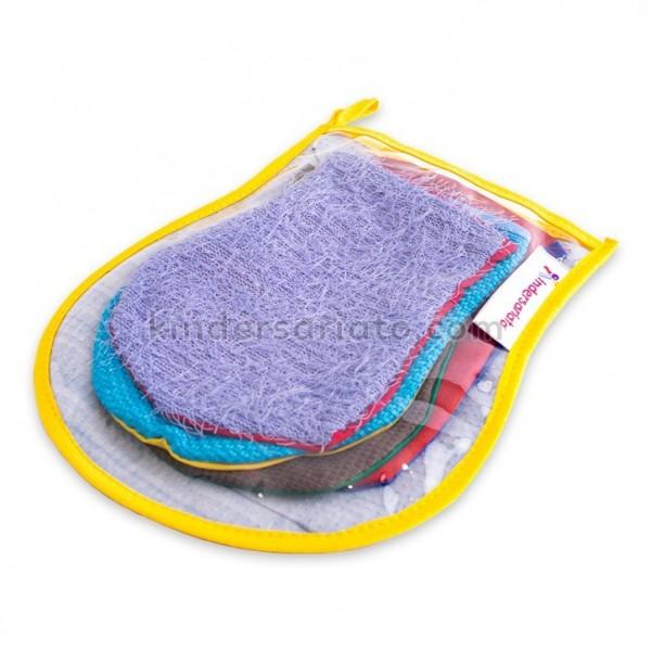 Guantes de texturas (4 texturas)